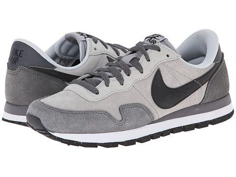 422ac60b56c97 Nike Air Pegasus 83 Leather Wolf Grey Dark Grey Cool Grey Black - 6pm.com