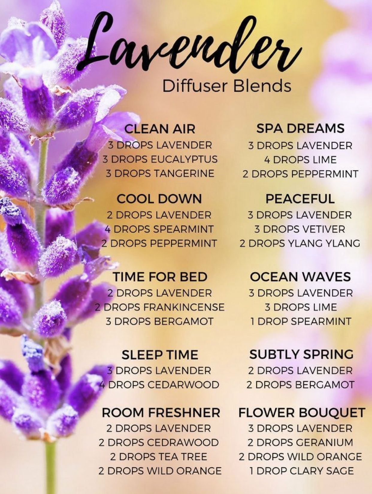 Lavender Oil Diffuser Blends Blends Diffuser Lavender Mondhygieneproductenessenti In 2020 Essential Oils Guide Essential Oil Mixes Essential Oil Blends Recipes #spa #essentials #true #living #room #spray