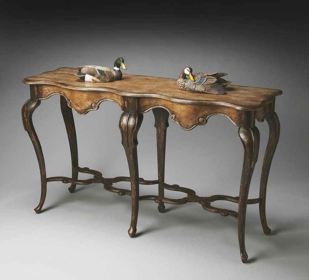 Old Spanish Mission Console Table   1526270