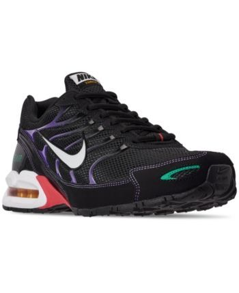 Nike Mens Air Max Torch 4 Running Sneakers from Finish Line  BLACK/WHITE-UNIV GOLD-EMB