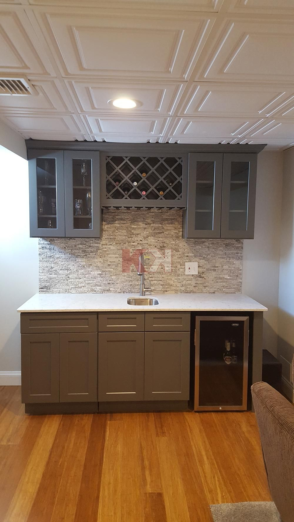 shaker gray cabinets by kitchen cabinet kings