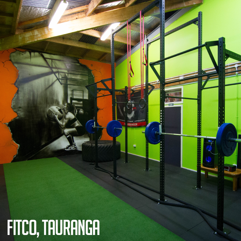 Industrial athletic custom rig and gym equipment at fitco in