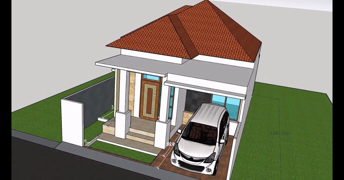 Desain Rumah Minimalis Luar Dalam Cek Bahan Bangunan