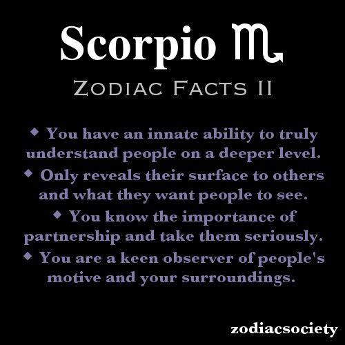 13++ Scorpio m info