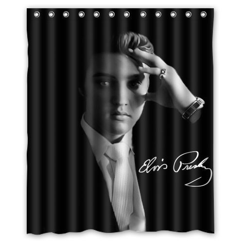 Elvis Presley Custom Shower Curtain Custom Shower Elvis