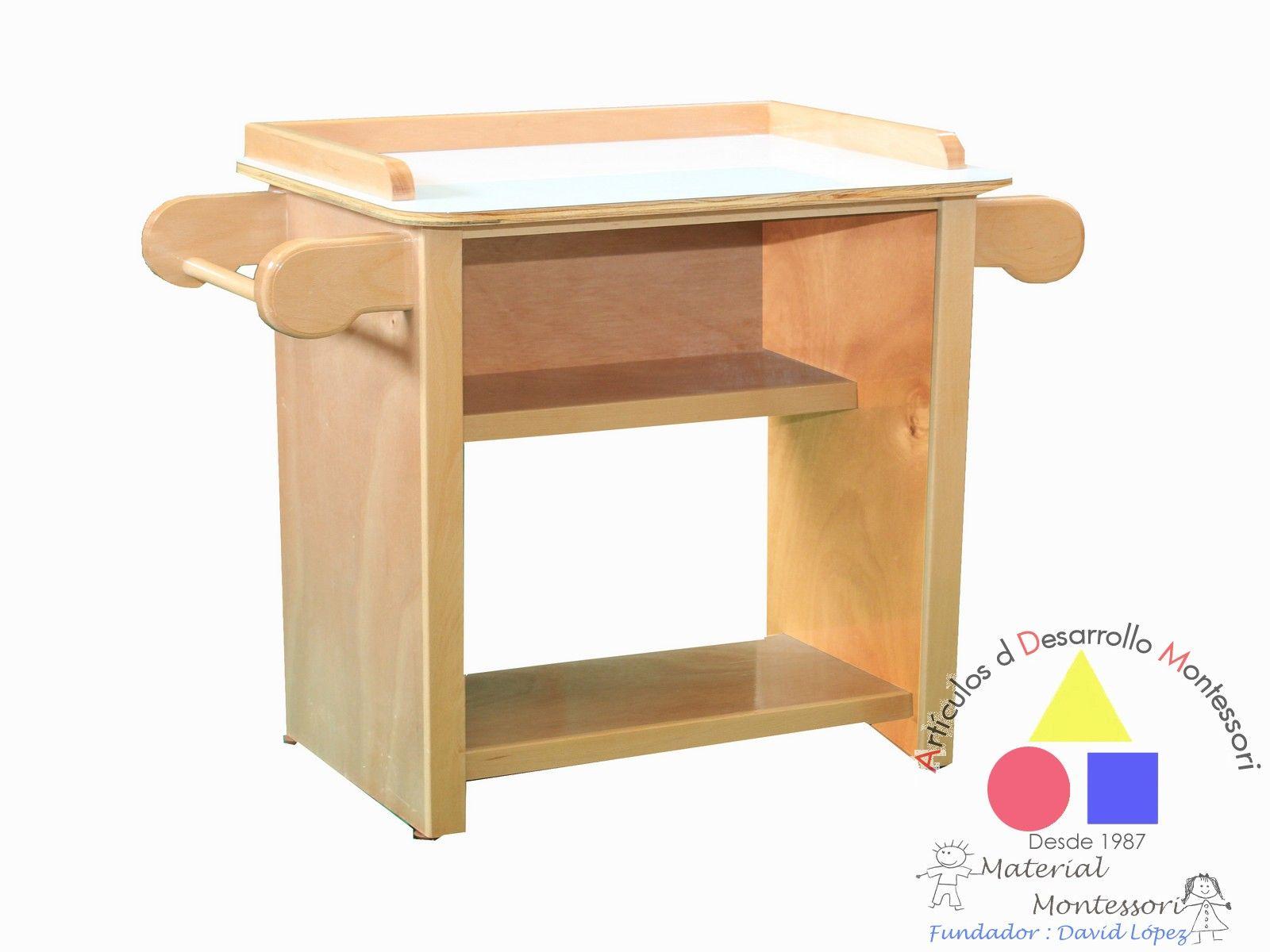 Mueble Para Lavar Las Manos Vida Practica Adm Montessori  # Muebles Para Nivel Inicial