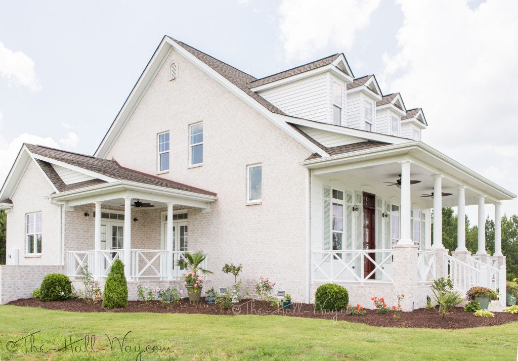 Southern Living Eastover Cottage Exterior Colonial House Exteriors Cottage Exterior Southern Living House Plans