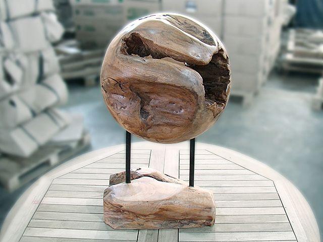 Teak Root Ball 30cm Burls Natural Edge Root Balls