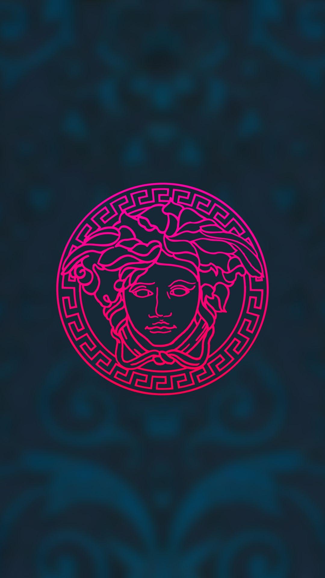 Versace Wallpaper Background Phone Simple Clean Minimalism Illustration Versace Medusa