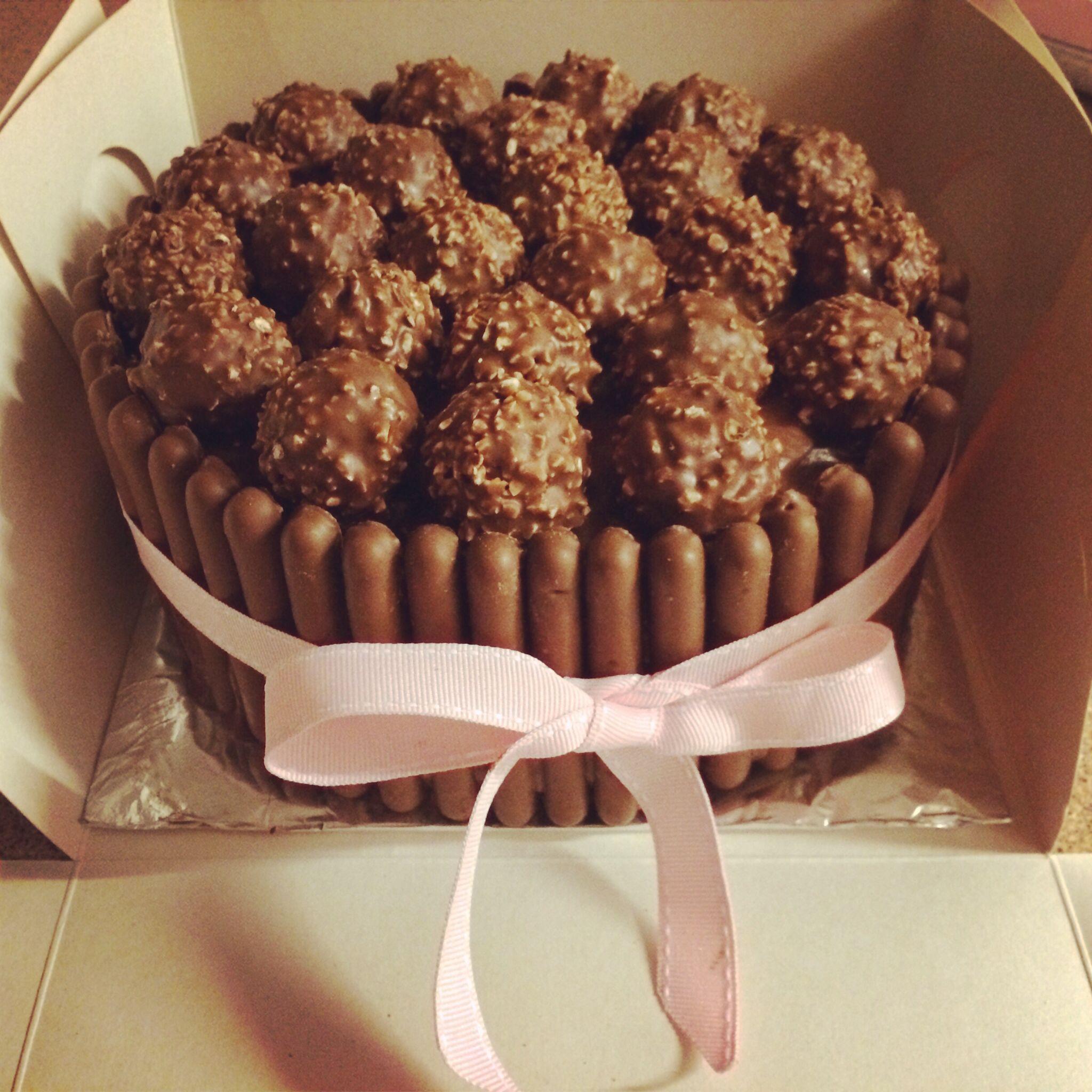 Ferrero Rocher Birthday Cake Ideas