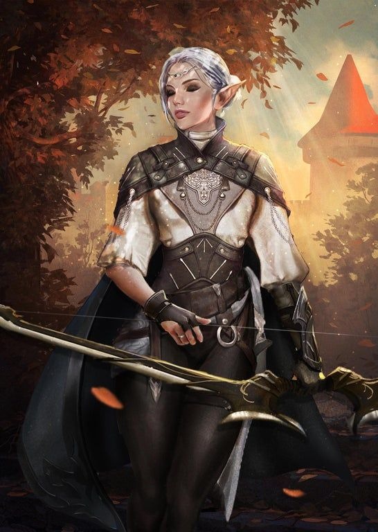 100 Best Archer Elfkin Female Images In 2020 Fantasy Characters Female Elf Character Art