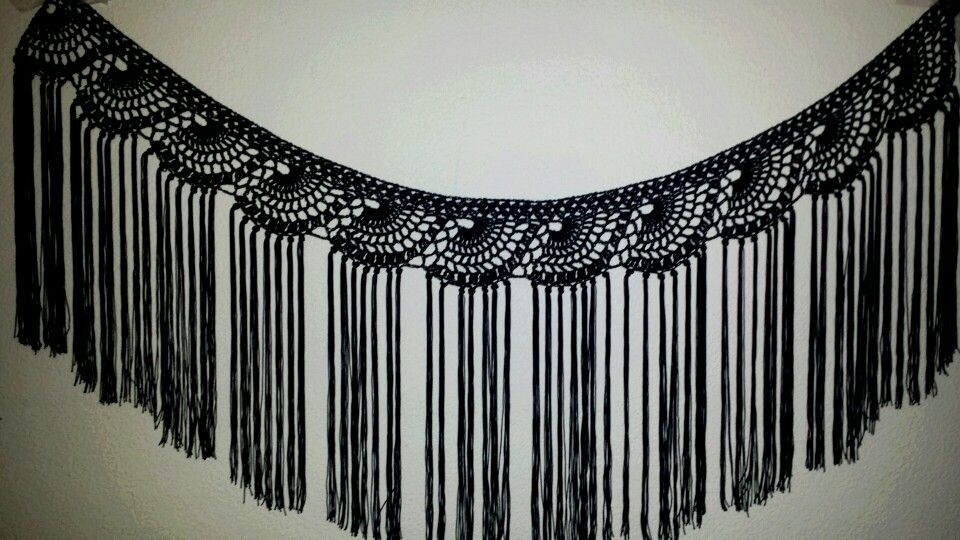 Mantoncillo hecho a crochet | crochet | Pinterest | Flamenco ...