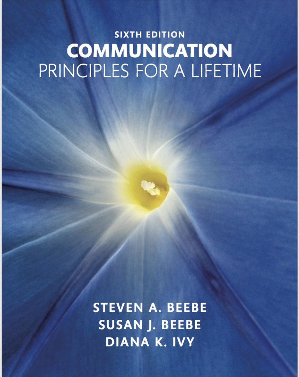 Communication: Principles for a Lifetime 6th Edition PDF | Books ...