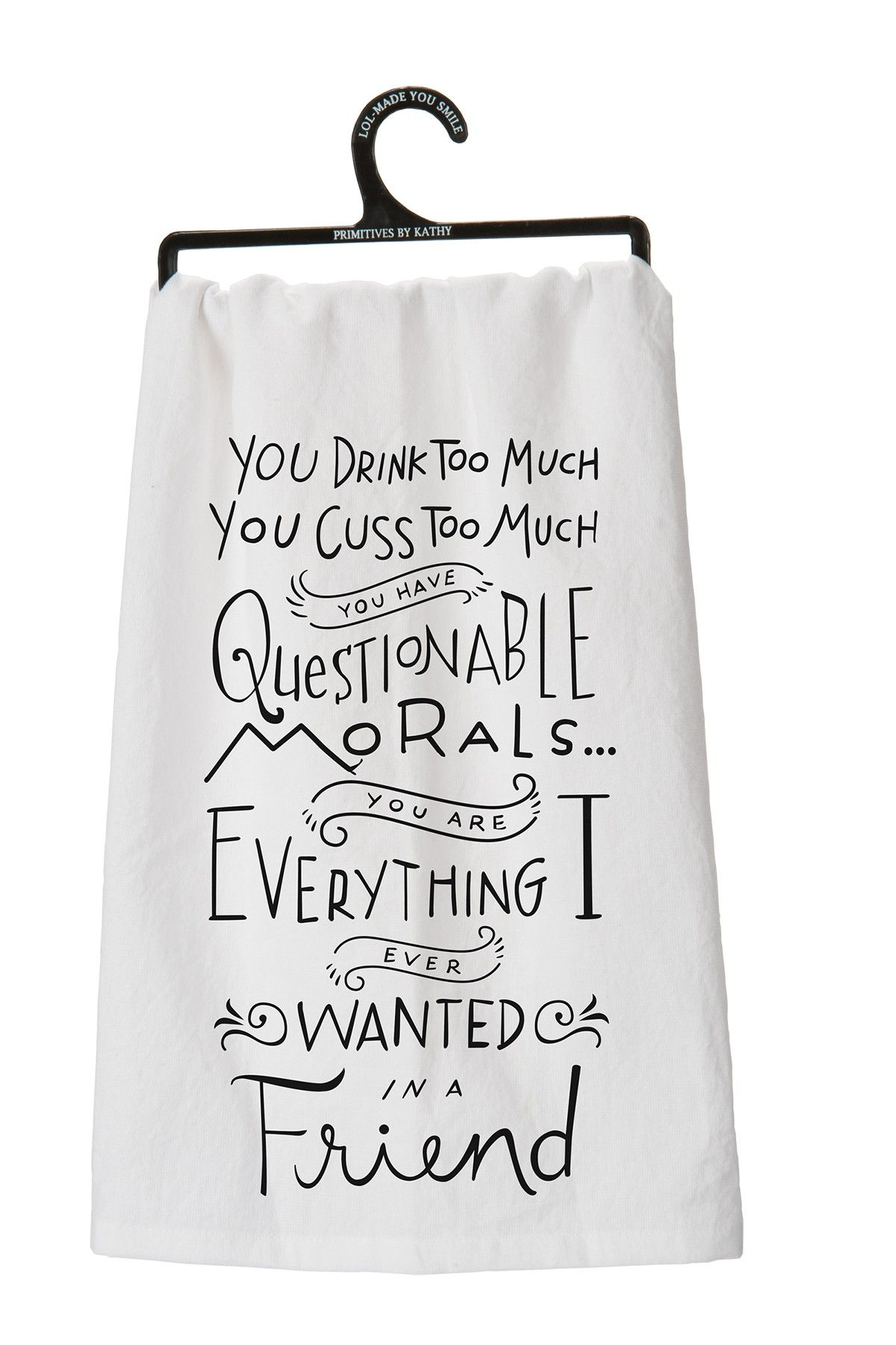 Who invited you?,Tea Towel,Banter Cards,Banter Tea Towel,Funny Gift,Rude Gift,dishcloth,kitchen towel,kitchen decor