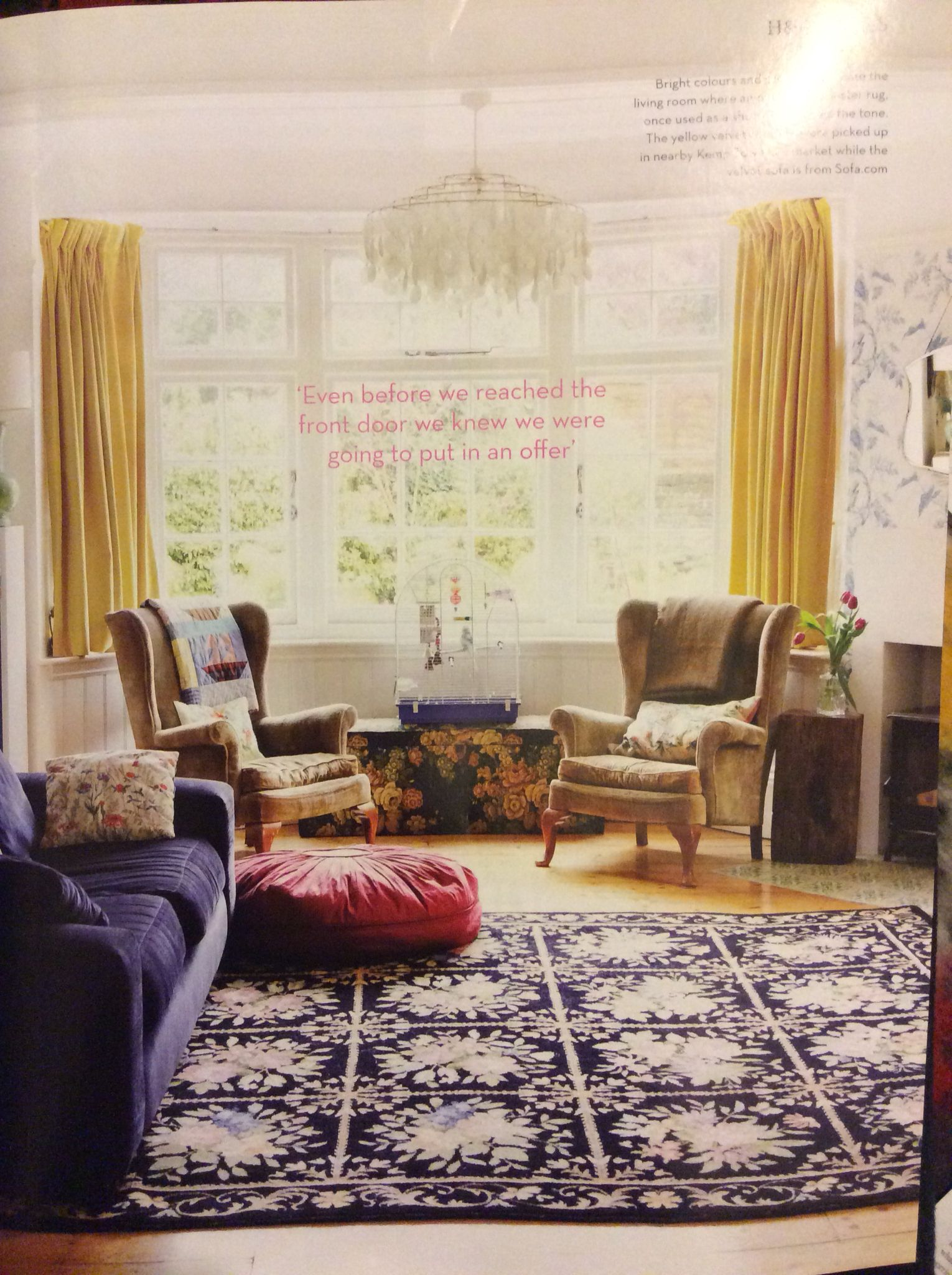 Homes Antiques May 2013 Home Of Garden Designer Sarah