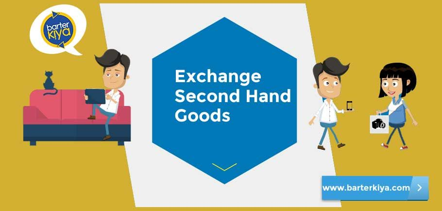 Bartering is nothing but the process of exchanging goods or services without using money. Barterkiya - India's #1 Bartering Website.Visit Us @ goo.gl/yNclmp