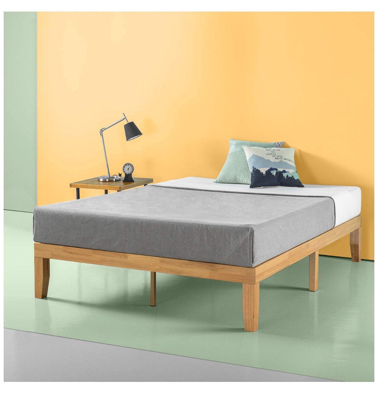 Ellerbe MidCentury Modern Platform Bed in 2020 Modern