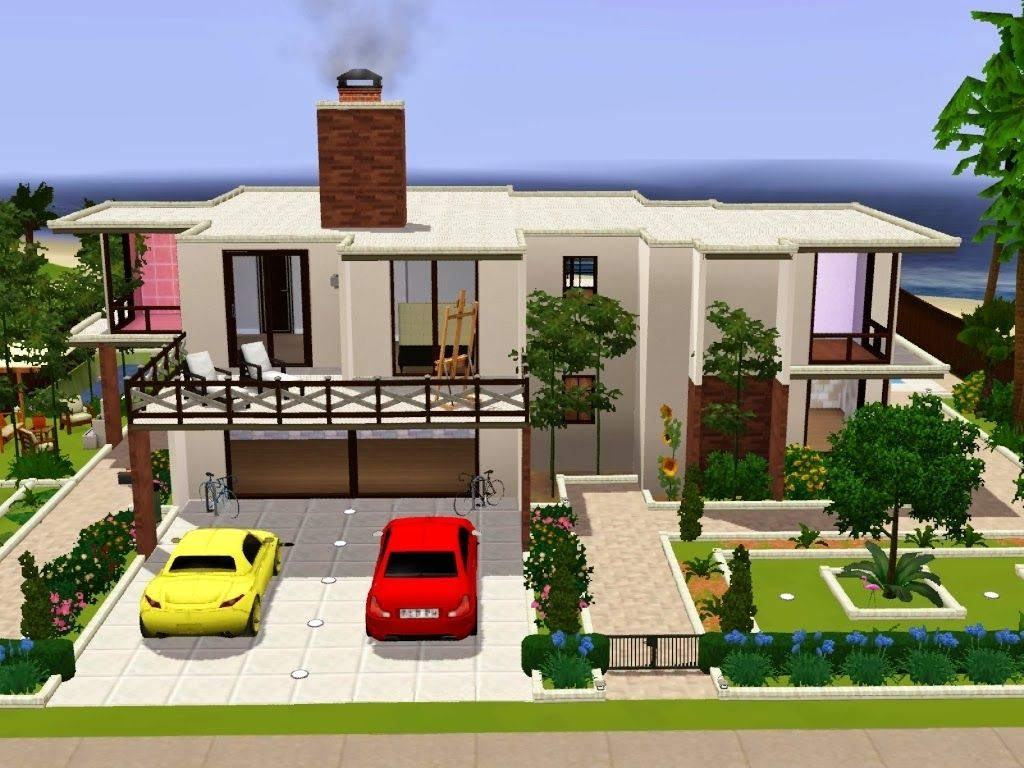 house - Sims 4 Home Design 2