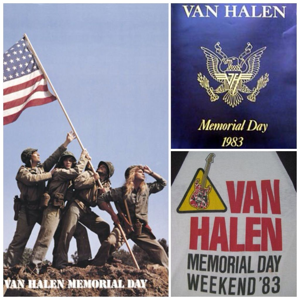 Van Halen Headlined The Us Festival In Front Of 500 000 Screaming Fans And Are In The Guinness Book Of Wo Van Halen Guinness Book Of World Records Joy Division