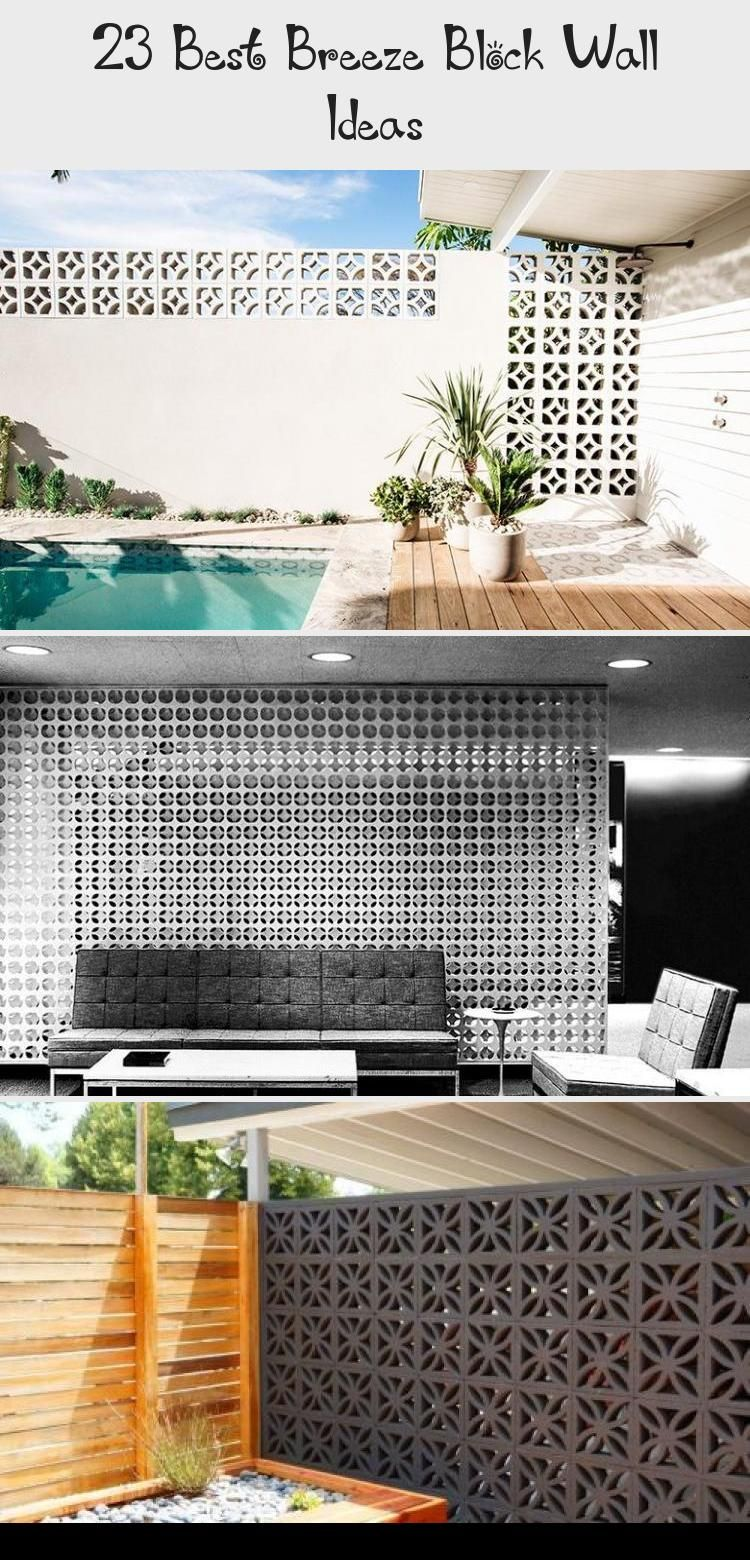 23 Best Breeze Block Wall Ideas | Concrete block walls ... on Backyard Cinder Block Wall Ideas  id=52837