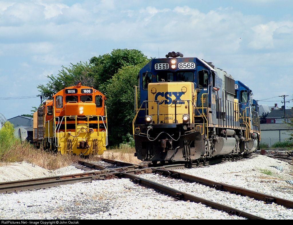 RailPictures.Net Photo: YRC 1606 York Railway EMD GP16 at Hanover, Pennsylvania…
