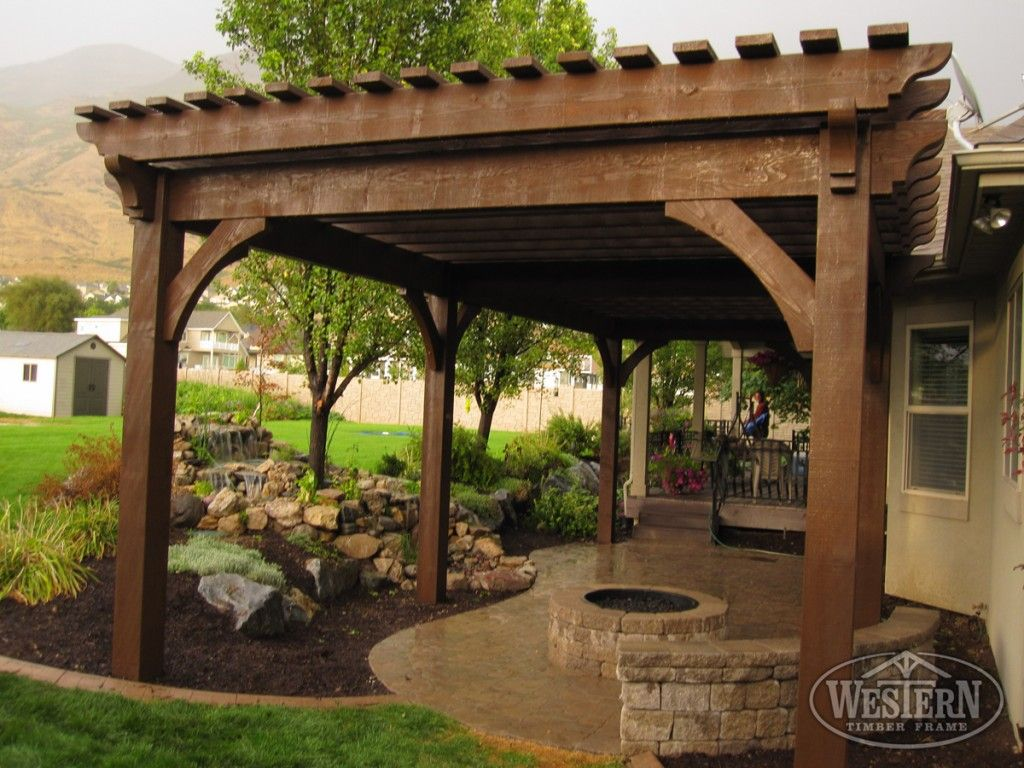 atkinson-pergola-patio-fire-pit | The Great Outdoors | Pinterest ...