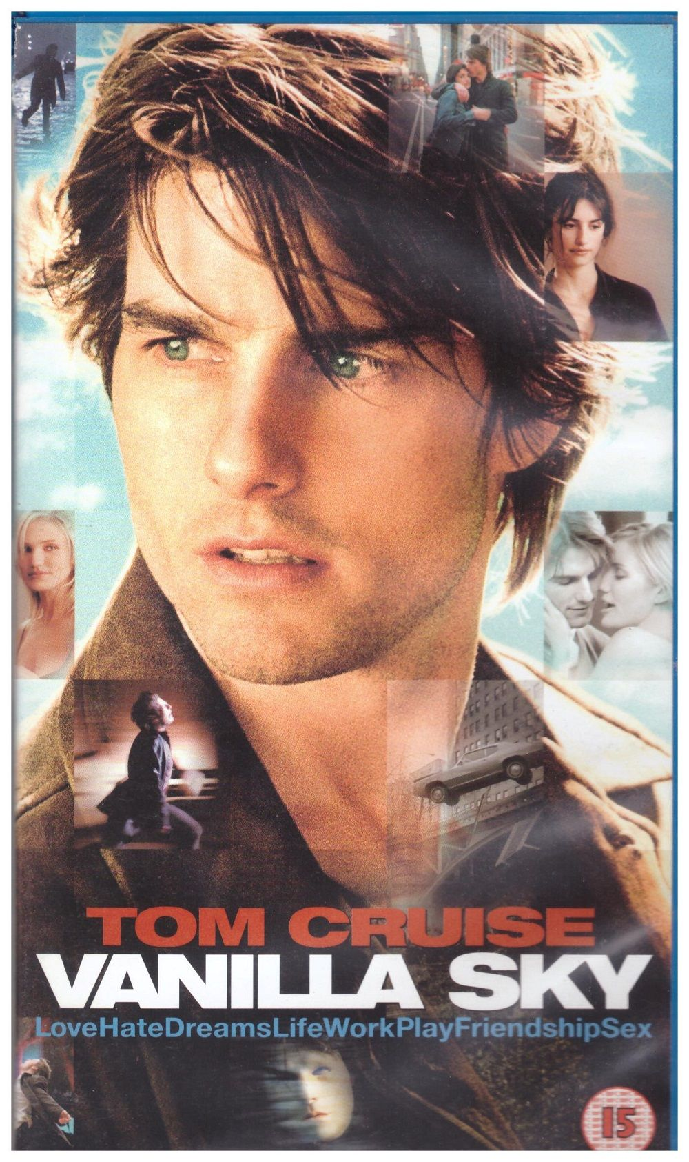Vanilla Sky Vhs From Paramount Vhr 5322 Film Romantique Tom Cruise Films Complets