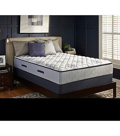 Sealy Watsonia Firm Mattress Box Spring Set Bedroom Sets Queen Black Queen Bed Frame Black King Bed