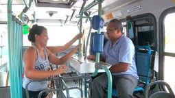 Gentileza de trocadores e motoristas conquista passageiros em Fortaleza