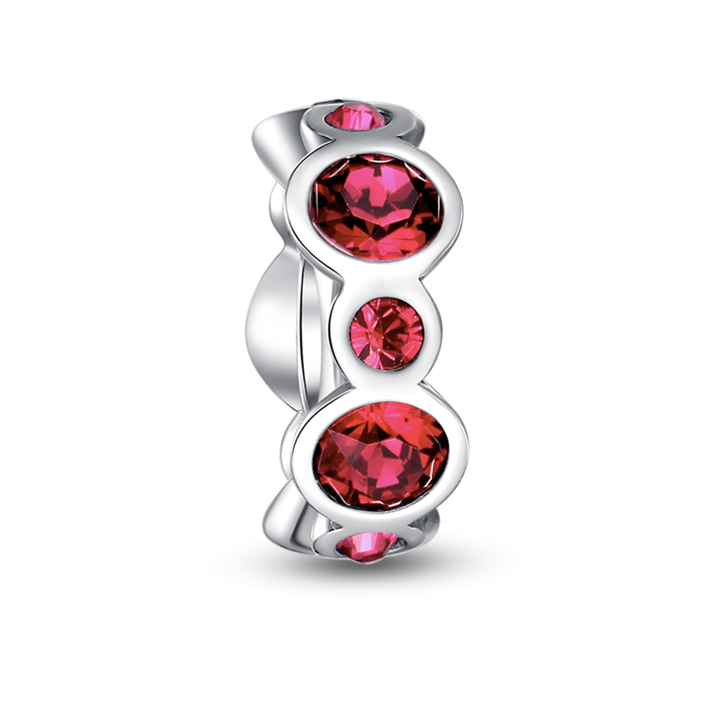 Pandora July Birthstone Cuff Charm 31476ox Pandora Charms Sale