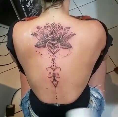 Flor De Loto Tatuagem Tatuagem Com Iniciais E Tatuagem