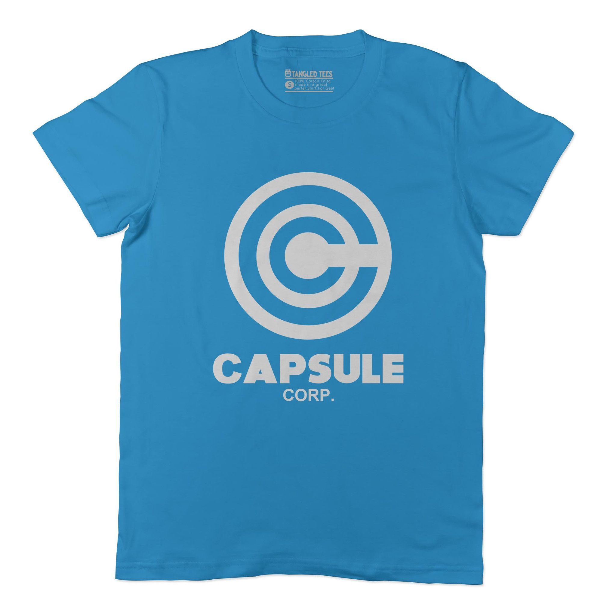 Capsule Corp Adult Tee Shirt