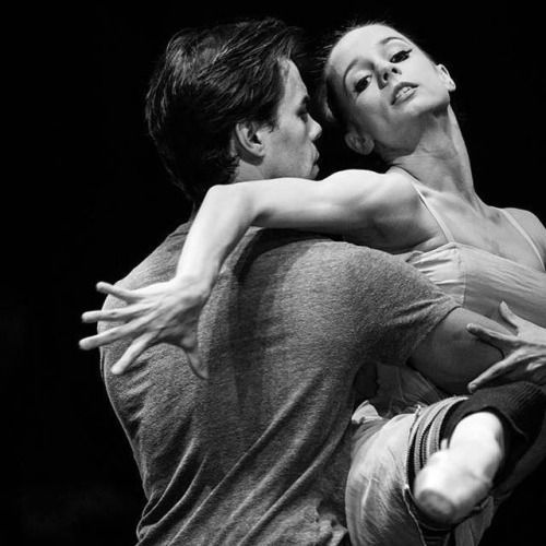 """Maria Kochetkova and Joan Boada, """"Voices of Spring"""" choreography by Sir Frederick Ashton, San Francisco Ballet at 2015 Dance Open Ballet Festival, Alexandrinsky Theatre (April 27, 2015) © Stas Levshin"""