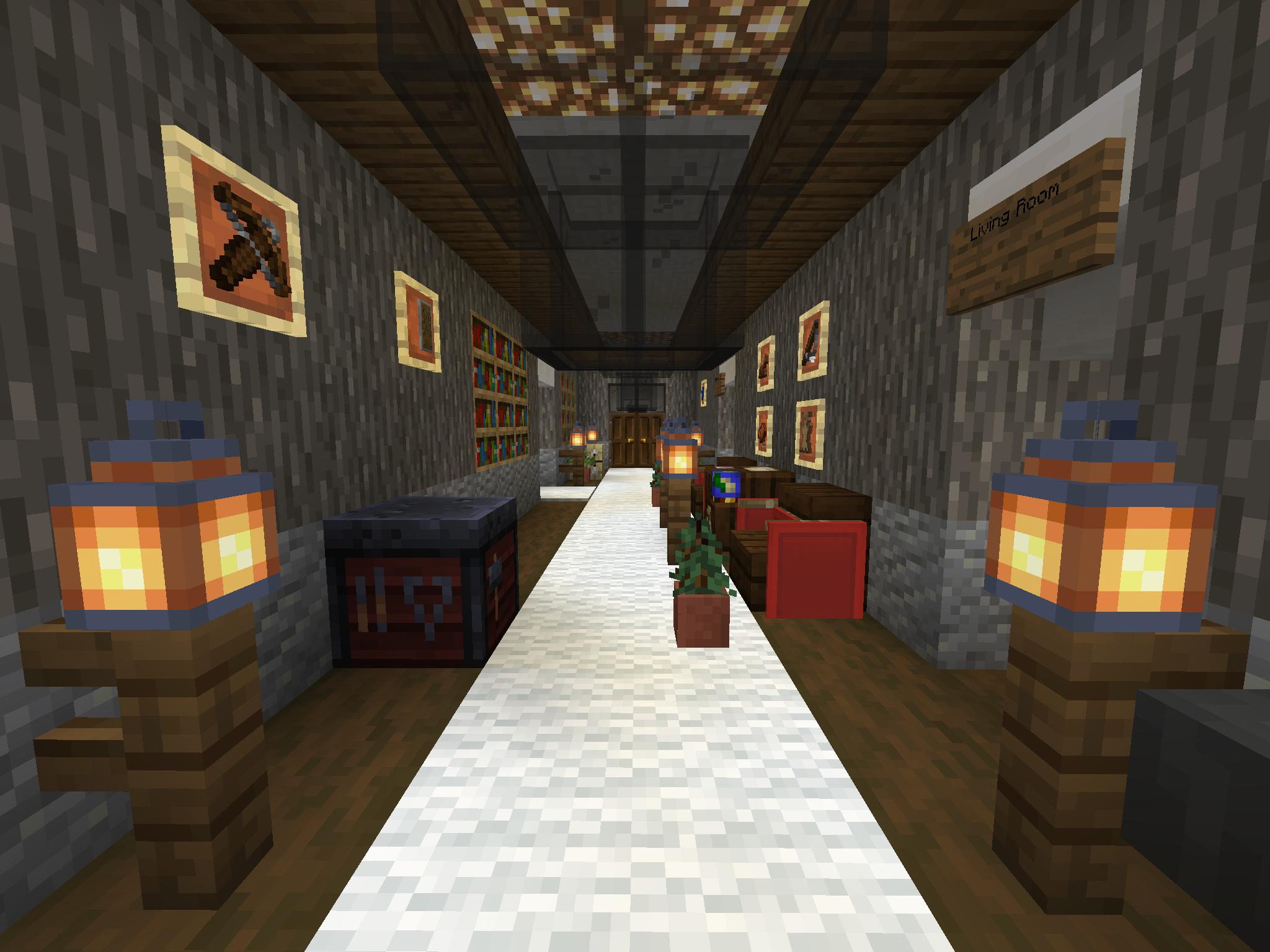 Pin on Minecraft House Interior Designs