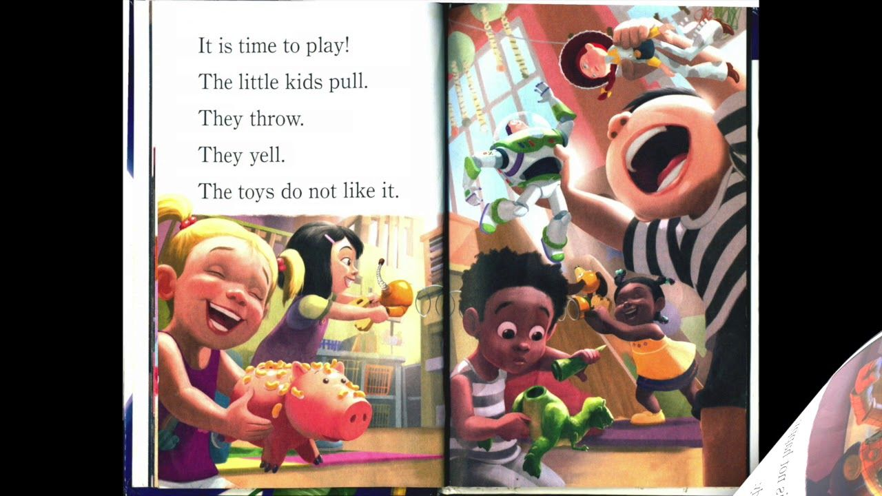 Disney pixar toy story 3 the great toy escape i read