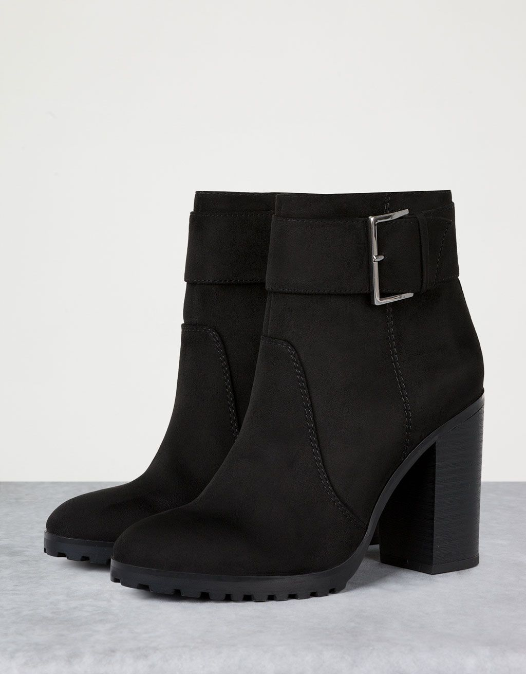 bershka armenia - buckle ankle boots | shoes | pinterest