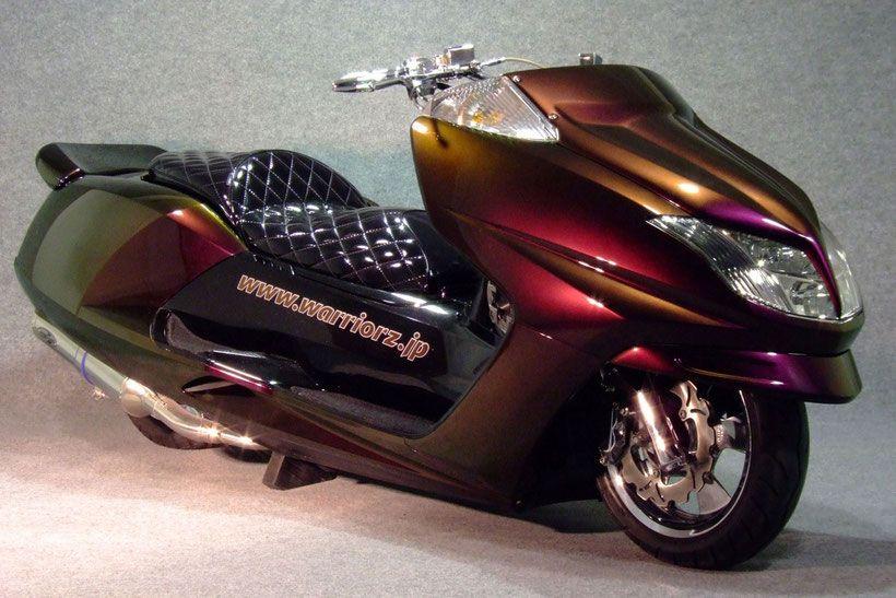 塗装 バイク