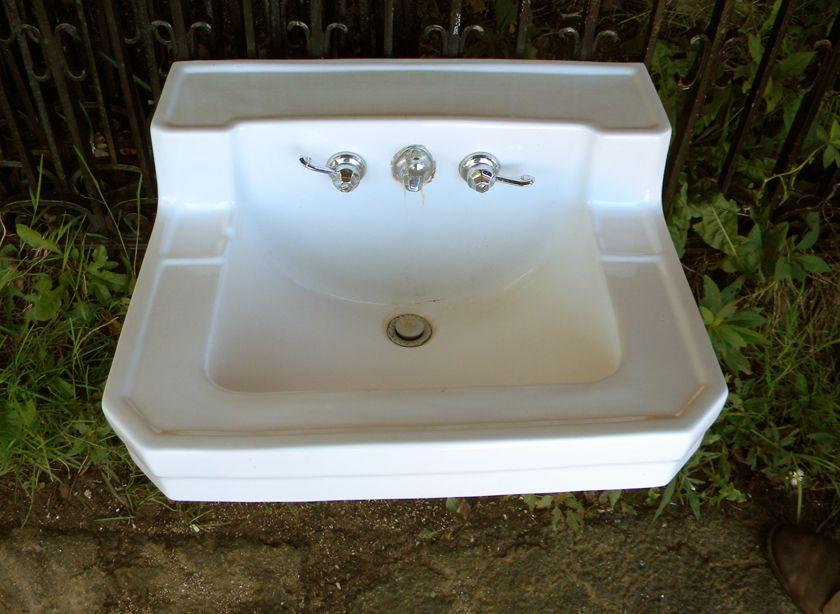 Antique Wall Hung Sink Vintage Bathroom Sinks Sink Vintage