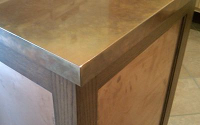 Metals : Countertops: Snitz Creek Cabinet Shop