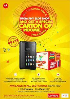Buy Lenovo Vibe C Get A Free Carton Of Indomie