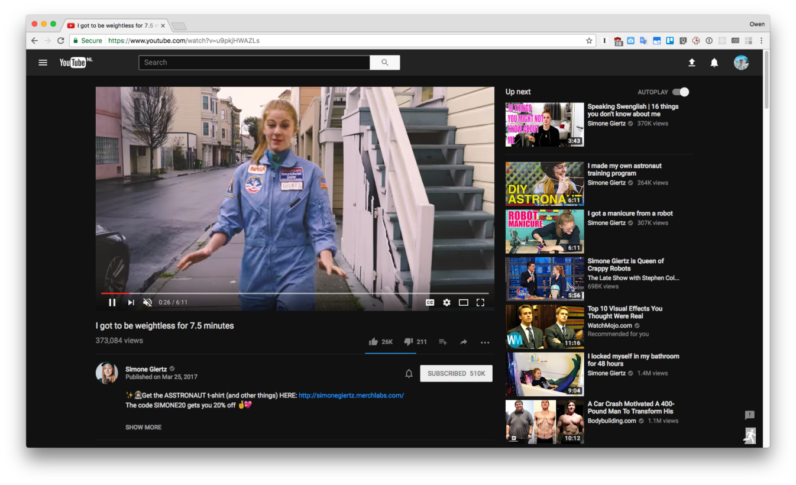 YouTube has a secret 'Dark Mode' this is how you