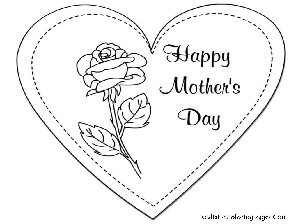 Mothers day coloring sheets for sunday school - Coloring Sheets You Can Print Printable Mothers Day Coloring Pages Realistic Coloring Pages