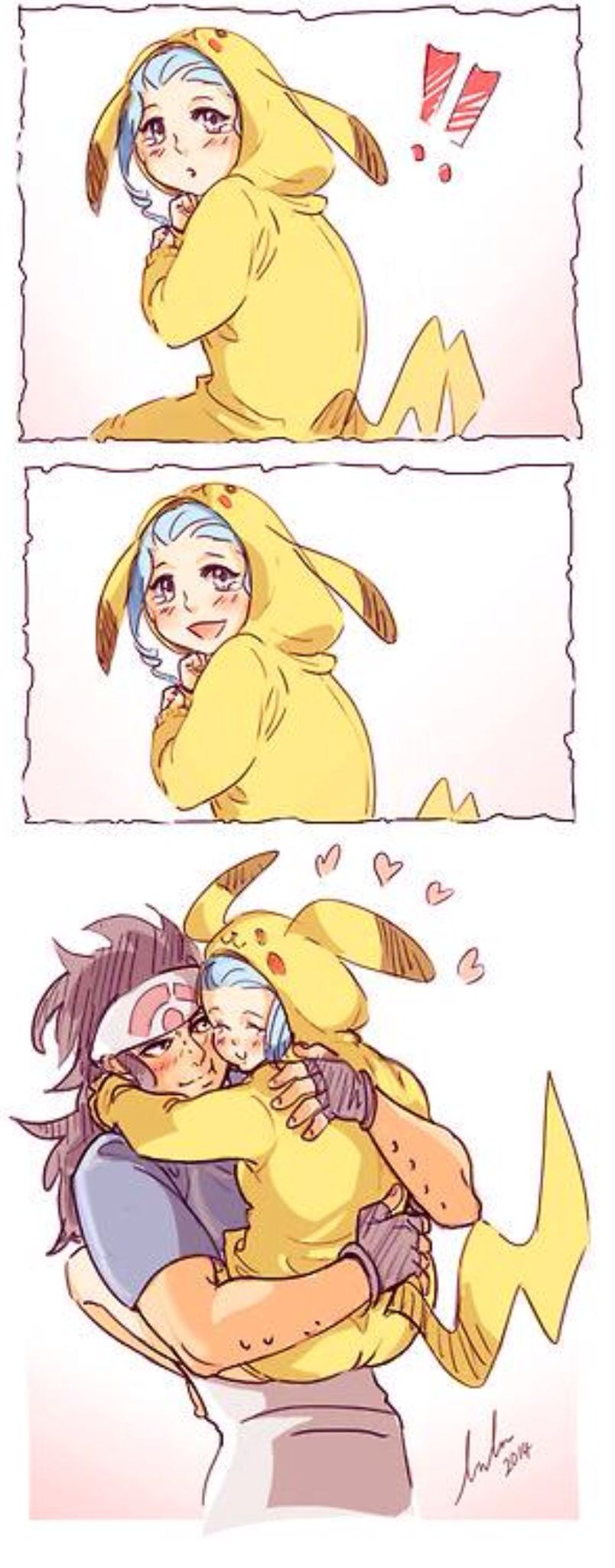 Pikachu Levy!!!!!!! >~< I'm pretty sure this is the cutest thing I've ever seen