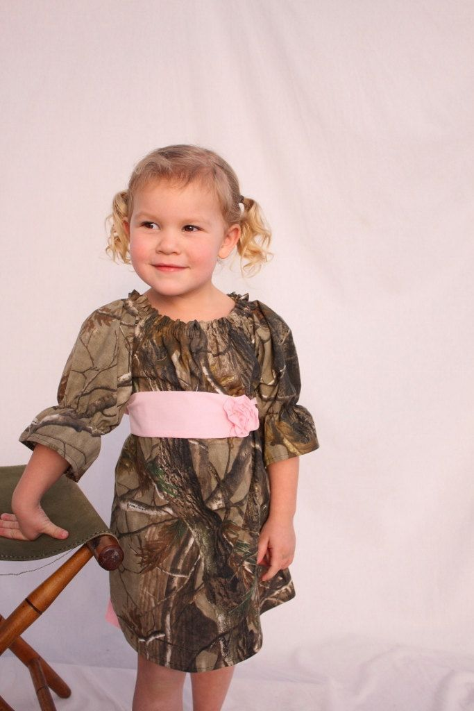 Camo Flower Girl Dress Making Myself Cost Of Fabric Ribbon Sewing Materials