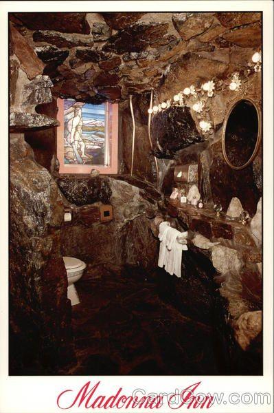 Madonna Inn Room 137 Caveman Bath Madonna Inn Rooms Rock Shower Inn