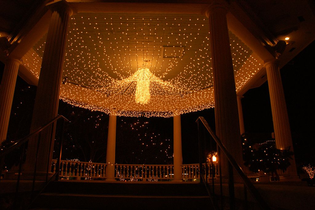 Even The #gazebou0027s Getting Ready For #Christmas! Gazebo LightingOutdoor ...