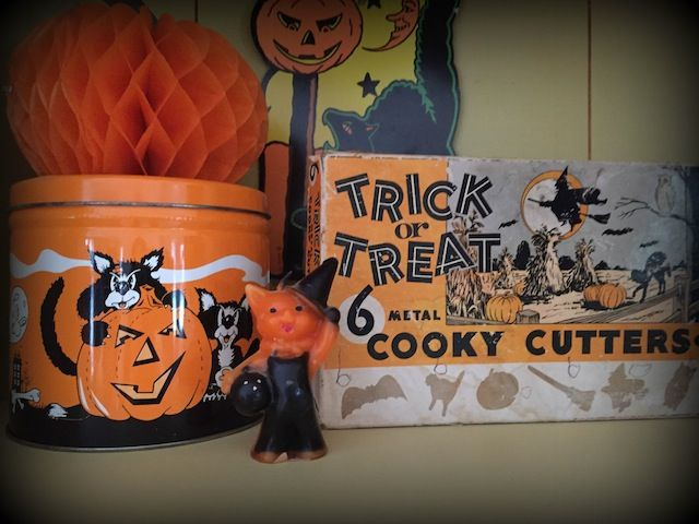 Vintage Halloween Decor Vintage Halloween Pinterest Vintage - halloween decorations vintage