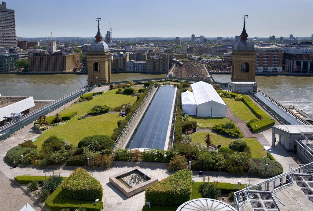 The Roof Garden On Top Of Cannon Street Station Roof Garden London Venues London
