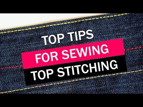 Sewing great looking topstitching can be tricky, so in this video tutorial I share my top tips for achieving good results when you use this sewing technique....