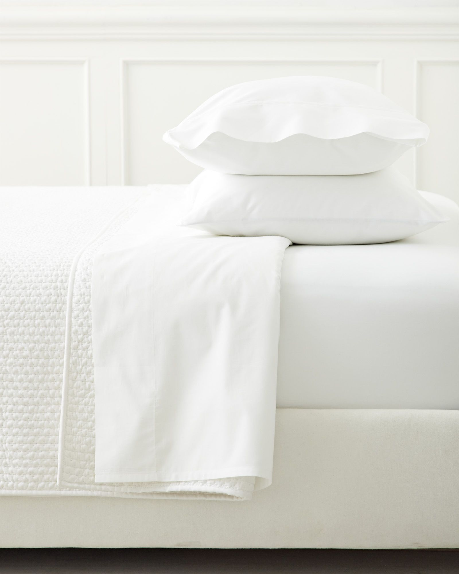Classic White Sateen Sheet Set Luxury Sheets Sateen Sheets Luxury Sheet Sets